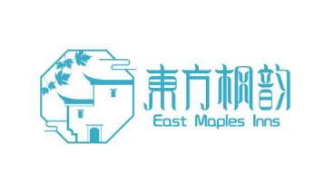 东方枫韵酒店品牌LOGO设计