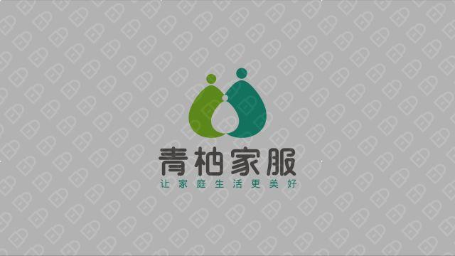 青柚家政服務公司LOGO設計入圍方案4