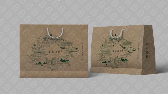 草木拾得农产品品牌包装设计入围方案4