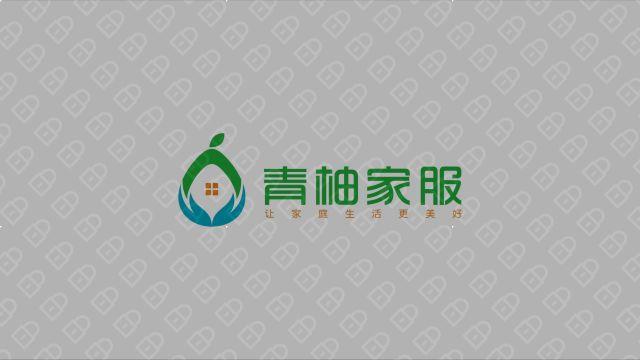 青柚家政服務公司LOGO設計入圍方案3
