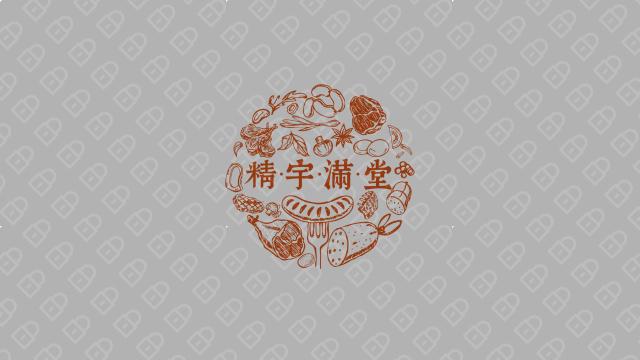 精宇满堂餐饮品牌LOGO设计入围方案6