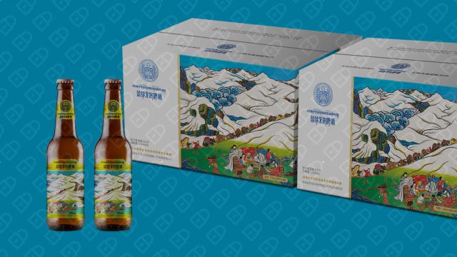 蓝梦戈尔啤酒品牌包装延展设计入围方案0