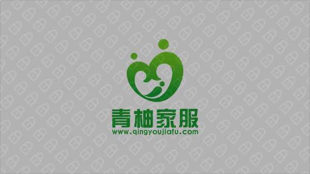 青柚家政服務公司LOGO設計入圍方案10