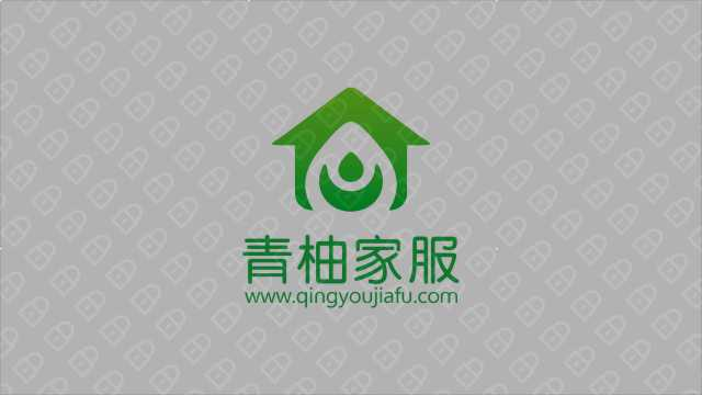 青柚家政服務公司LOGO設計入圍方案9