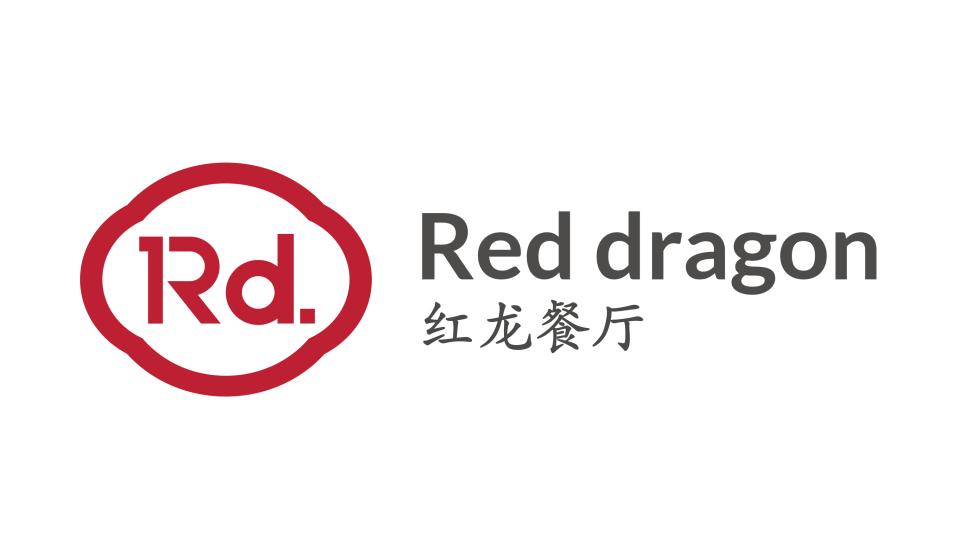紅龍餐廳品牌LOGO設計