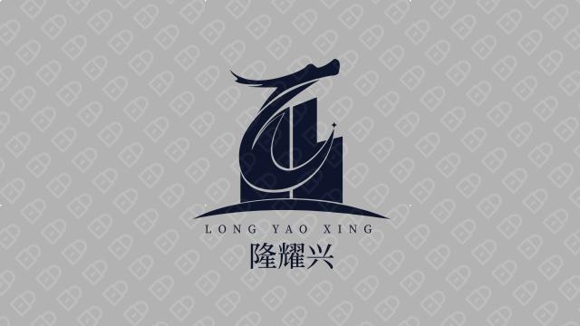 隆耀兴工程公司LOGO设计入围方案2