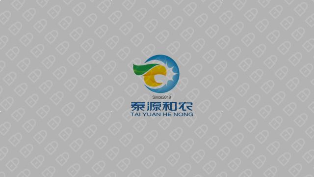 泰源和农生物科技公司LOGO设计入围方案2