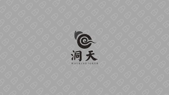 洞天广告传媒品牌LOGO乐天堂fun88备用网站入围方案3