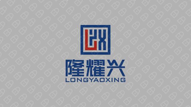 隆耀兴工程公司LOGO设计入围方案5
