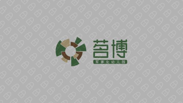茗博军事化幼儿园LOGO设计入围方案1