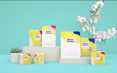 白宿篱旅行一次性卫生用品全案设计