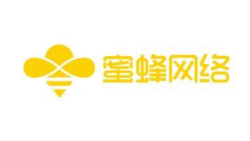 蜜蜂网络科技公司LOGO设计