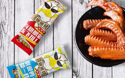 鸭百仕食品行业包装设计