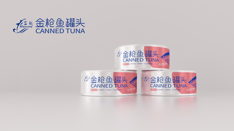 蓝润罐头食品品牌包装设计