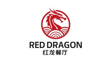 紅龍餐廳LOGO設計
