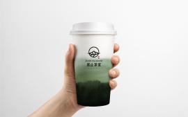 居止茶室品牌logo设计