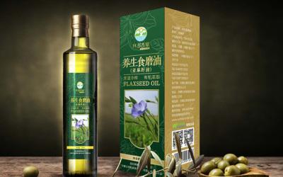 亚麻籽油--包装设计