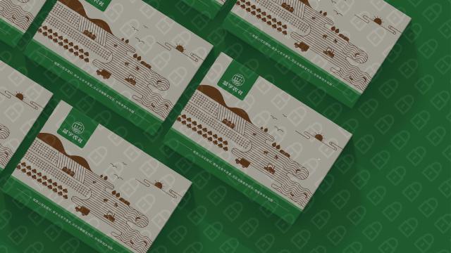 蓝字农社高端食品品牌包装设计入围方案3