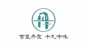 百里丹霞旅游食品LOGO设计