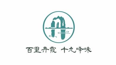 百里丹霞旅游食品LOGO設計