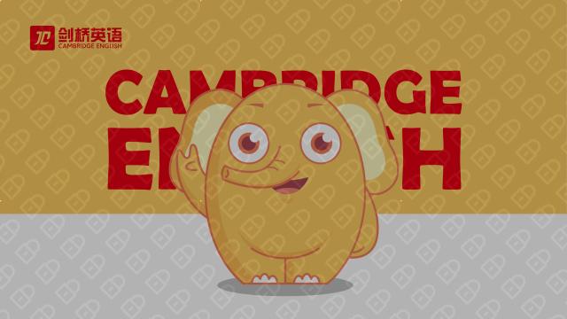 银川剑桥英语培训中心吉祥物必赢体育官方app入围方案2