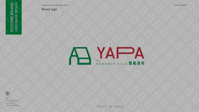 雅帕瓷砖品牌LOGO乐天堂fun88备用网站入围方案0