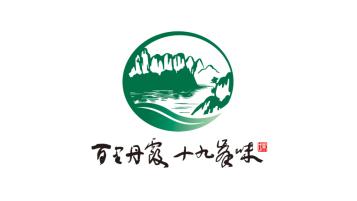 百里丹霞食品品牌LOGO设计