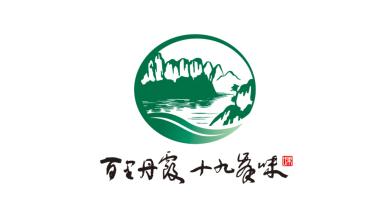 百里丹霞食品品牌LOGO設計