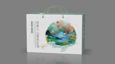 草木拾得农产品品牌包装设计