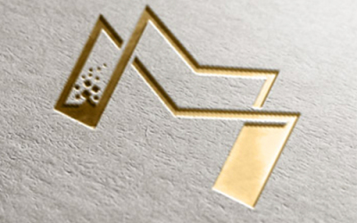 科技类服务器托管公司logo设...