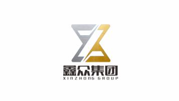 鑫众集团汽车4s店LOGO设计