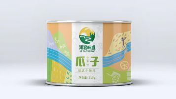 河套味道瓜子品牌包装设计