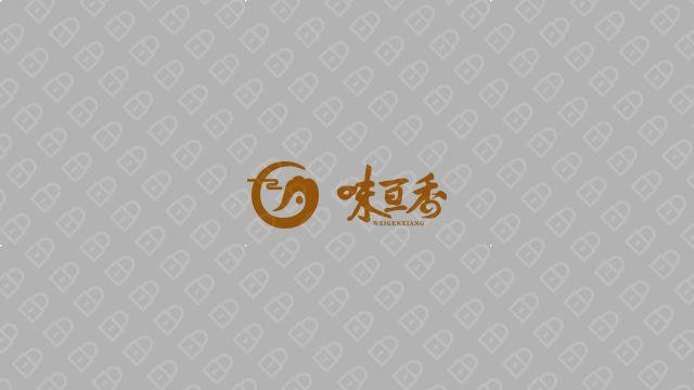 味亘香食品品牌LOGO设计入围方案3