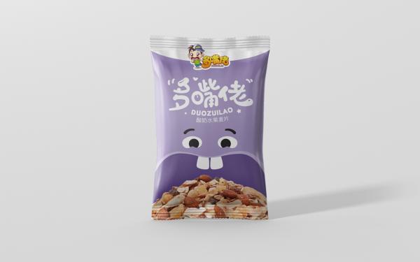 【多嘴佬】酸奶燕麦片包装设计