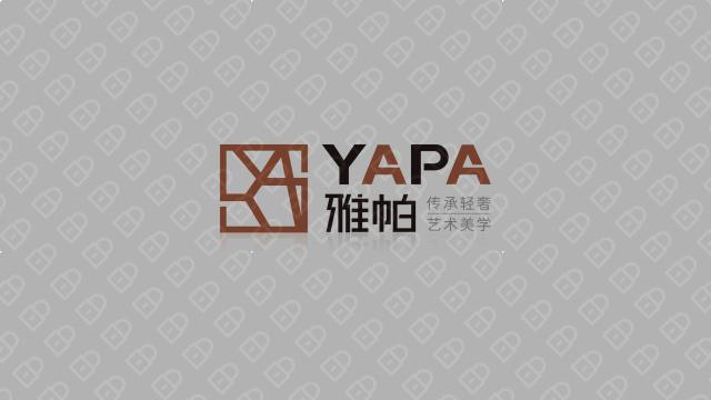 雅帕瓷砖品牌LOGO乐天堂fun88备用网站入围方案2