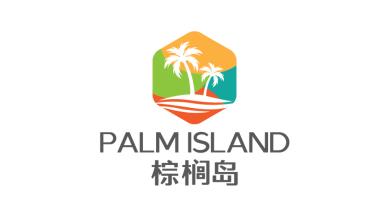 棕櫚島房地產品牌LOGO設計