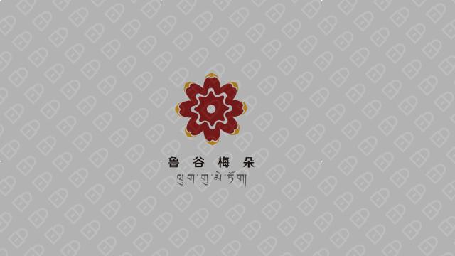 鲁谷梅朵地毯品牌LOGO必赢体育官方app入围方案4