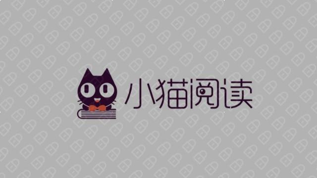 小猫阅读互联网品牌LOGO设计入围方案5