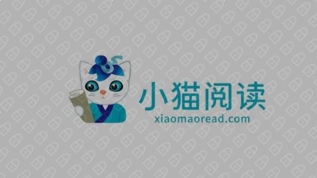 小猫阅读互联网品牌LOGO设计入围方案7