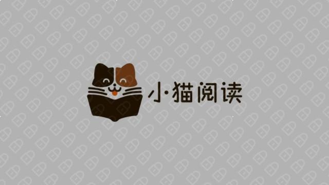 小猫阅读互联网品牌LOGO设计入围方案0
