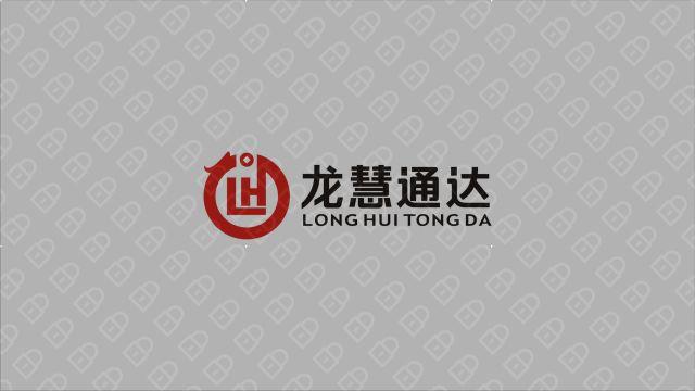 龙慧通达管理公司LOGO设计入围方案5