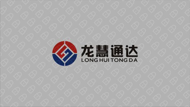 龙慧通达管理公司LOGO设计入围方案4