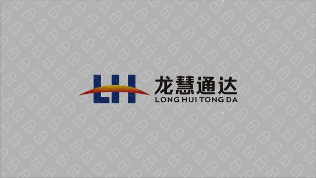 龙慧通达管理公司LOGO设计入围方案3