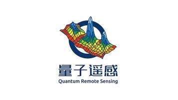 量子遙感科研品牌LOGO設計