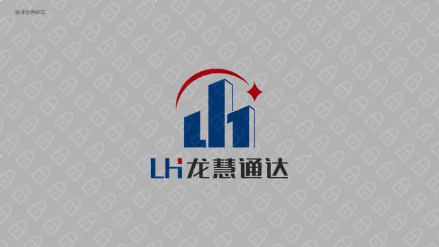 龙慧通达管理公司LOGO设计入围方案6