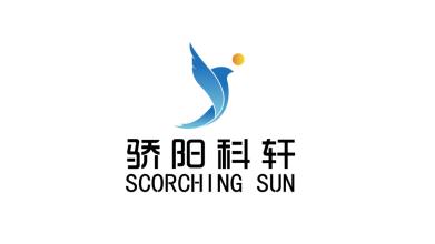 骄阳科轩保健品牌LOGO设计