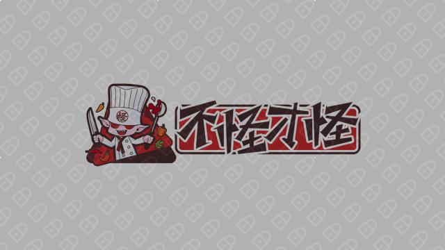 不怪才怪餐飲品牌LOGO設計入圍方案3