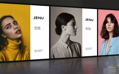 JENU服饰品牌设计