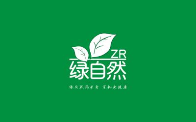 绿自然大米品牌设计