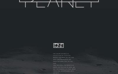PLANET字体设计